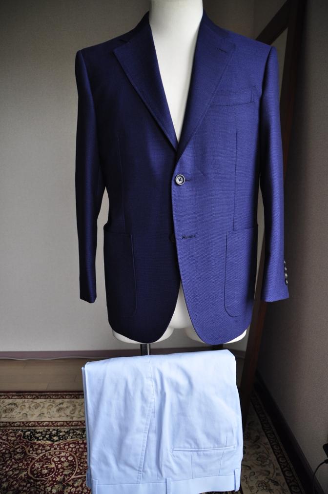 DSC0895 お客様のジャケット・パンツ-CANONICO ホップサック・LARUSMIANI コットン-