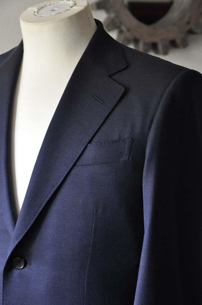 DSC0896-1 お客様のスーツの紹介- Biellesi ネイビーバーズアイ-