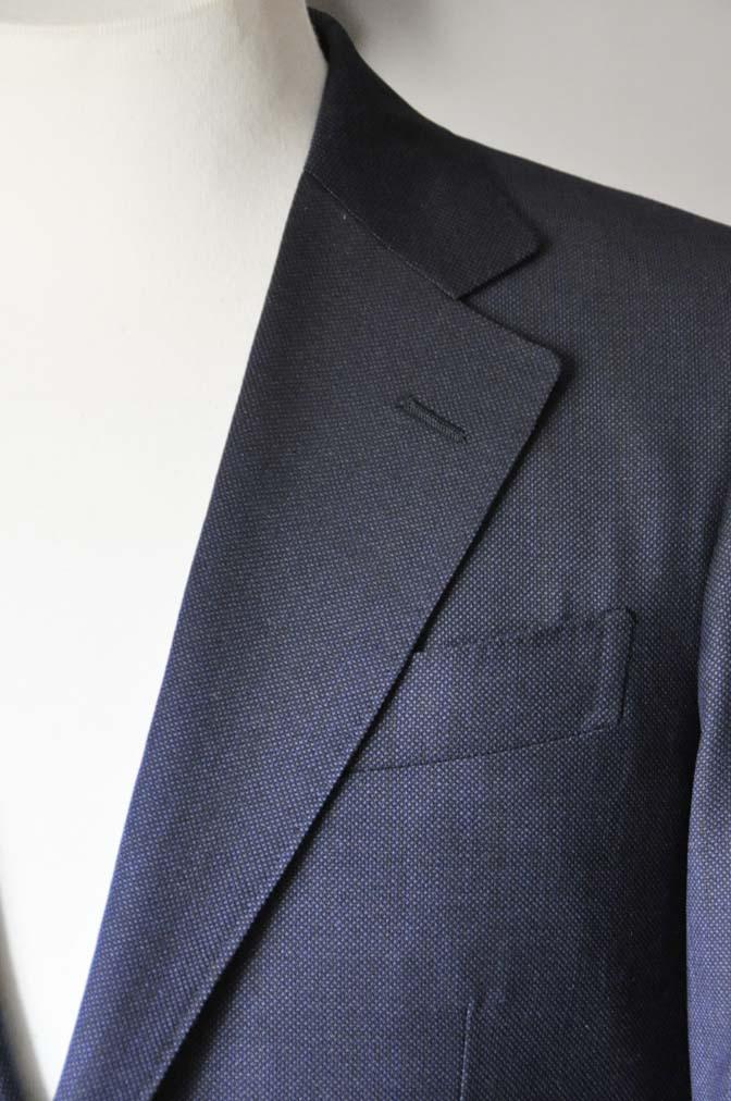 DSC0897-1 お客様のスーツの紹介- Biellesi ネイビーバーズアイ-
