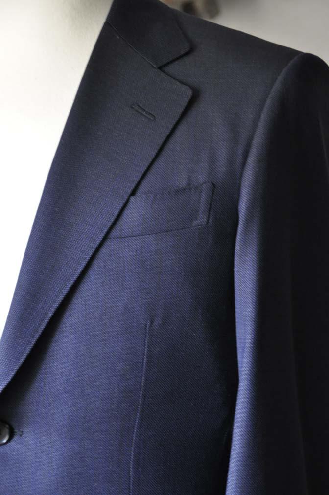 DSC0898-1 お客様のスーツの紹介- Biellesi ネイビーバーズアイ-