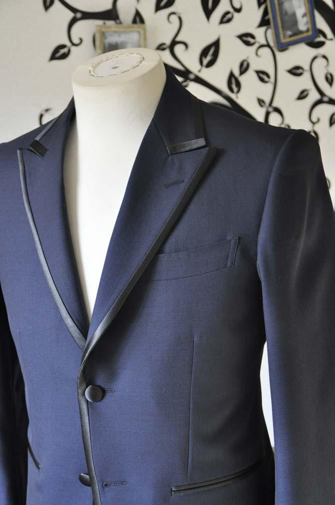 DSC0898-3 お客様のジャケットの紹介-DARROW DALEネイビーパイピングジャケット、ブラックウォッチパンツ-