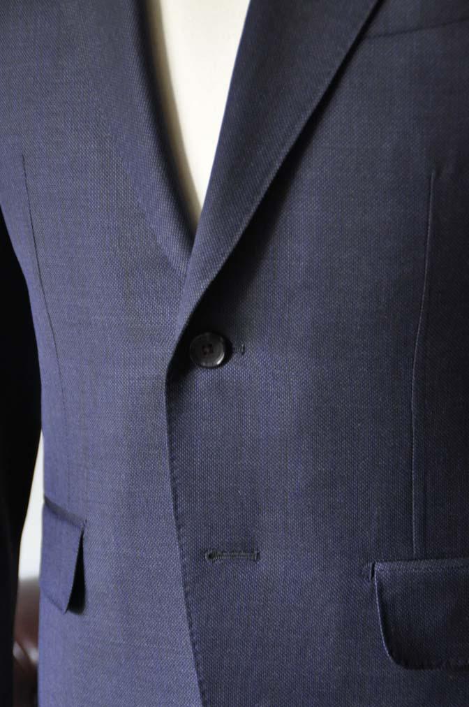 DSC0899-1 お客様のスーツの紹介- Biellesi ネイビーバーズアイ-