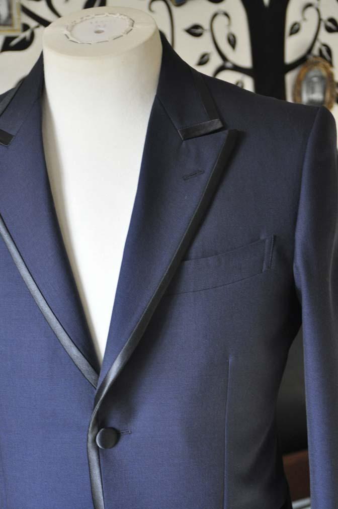 DSC0899-2 お客様のジャケットの紹介-DARROW DALEネイビーパイピングジャケット、ブラックウォッチパンツ-