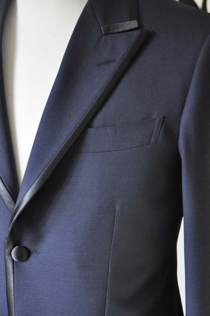 DSC0900-3 お客様のジャケットの紹介-DARROW DALEネイビーパイピングジャケット、ブラックウォッチパンツ-