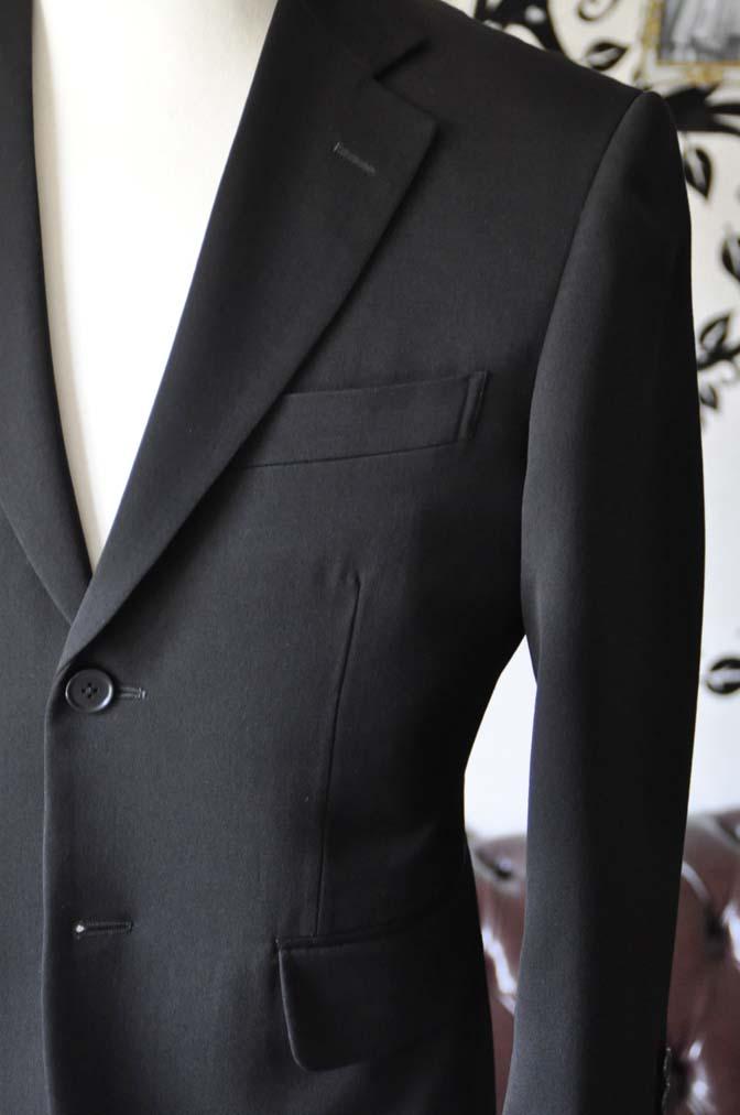 DSC0902-3 お客様のスーツの紹介-無地ブラックスーツ-