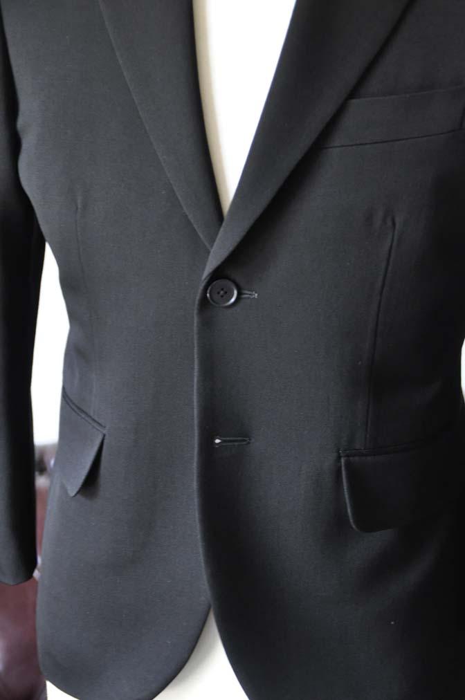 DSC0903-3 お客様のスーツの紹介-無地ブラックスーツ-