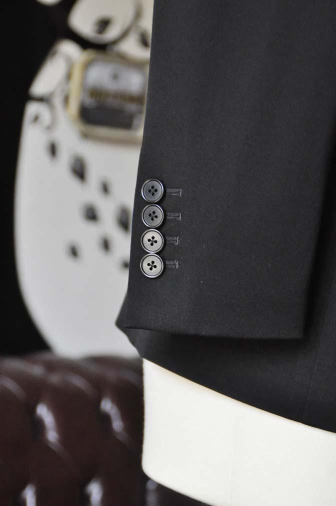 DSC0906-2 お客様のスーツの紹介-無地ブラックスーツ-