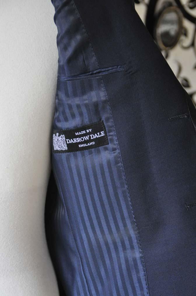DSC0908-1 お客様のジャケットの紹介-DARROW DALEネイビーパイピングジャケット、ブラックウォッチパンツ-