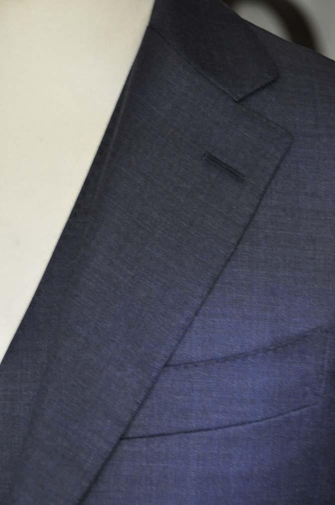 DSC09102 スーツの紹介- 御幸毛織 無地ネイビースリーピースグレー-