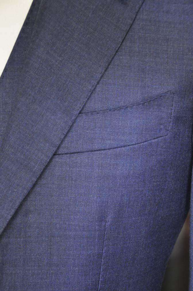 DSC09112 スーツの紹介- 御幸毛織 無地ネイビースリーピースグレー-
