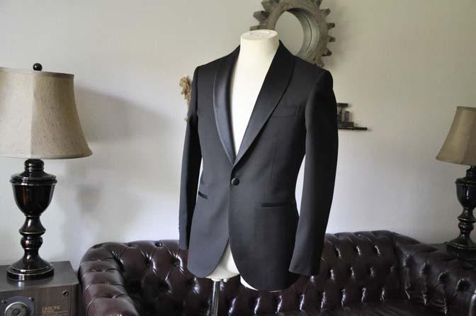 DSC0915-2 スーツのパーツ名称 「ラペル」 名古屋の完全予約制オーダースーツ専門店DEFFERT