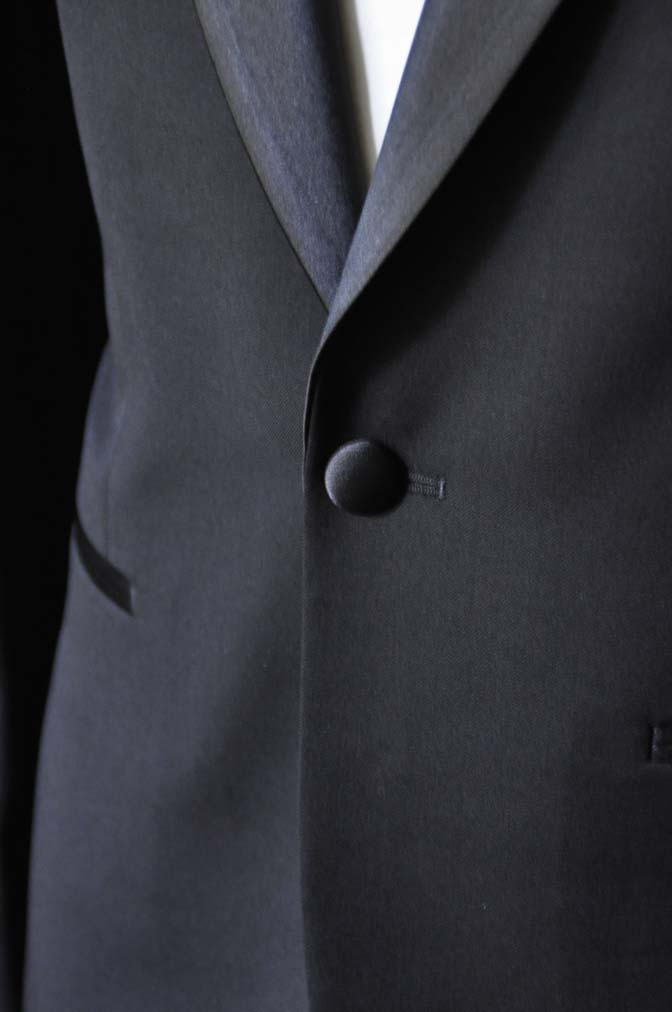 DSC0920-1 お客様のタキシードの紹介- Biellesiブラックショールカラータキシード-