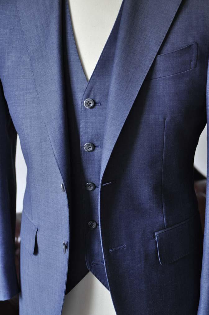 DSC0920-4 お客様のスーツの紹介-SCABAL GOLDEN RIBBON無地ネイビースリーピース-