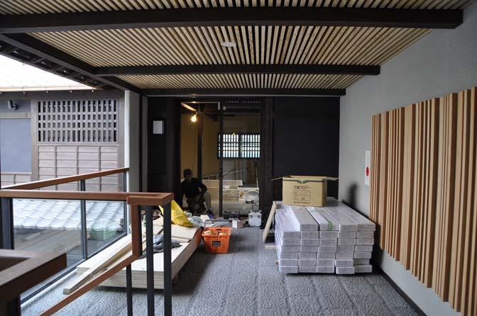 DSC0921-2 着々と進む内装工事。 名古屋の完全予約制オーダースーツ専門店DEFFERT