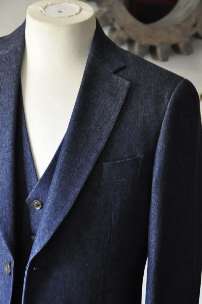 DSC0937-1 お客様のスーツの紹介- デニムスリーピース-