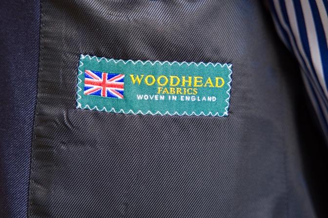 DSC09485 オーダースーツの紹介-WOODHEADネイビースーツ-