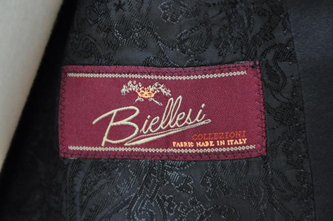DSC09541 お客様のスーツの紹介-BIELLESI チャコールグレータキシード-