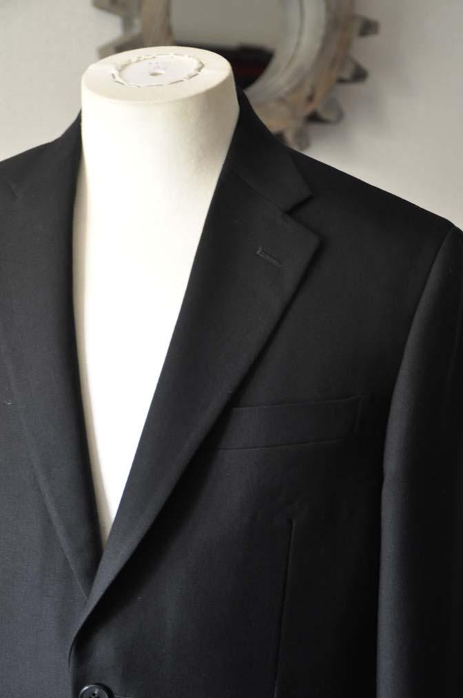 DSC0955-2 お客様のスーツの紹介-ブラックスーツ- 名古屋の完全予約制オーダースーツ専門店DEFFERT