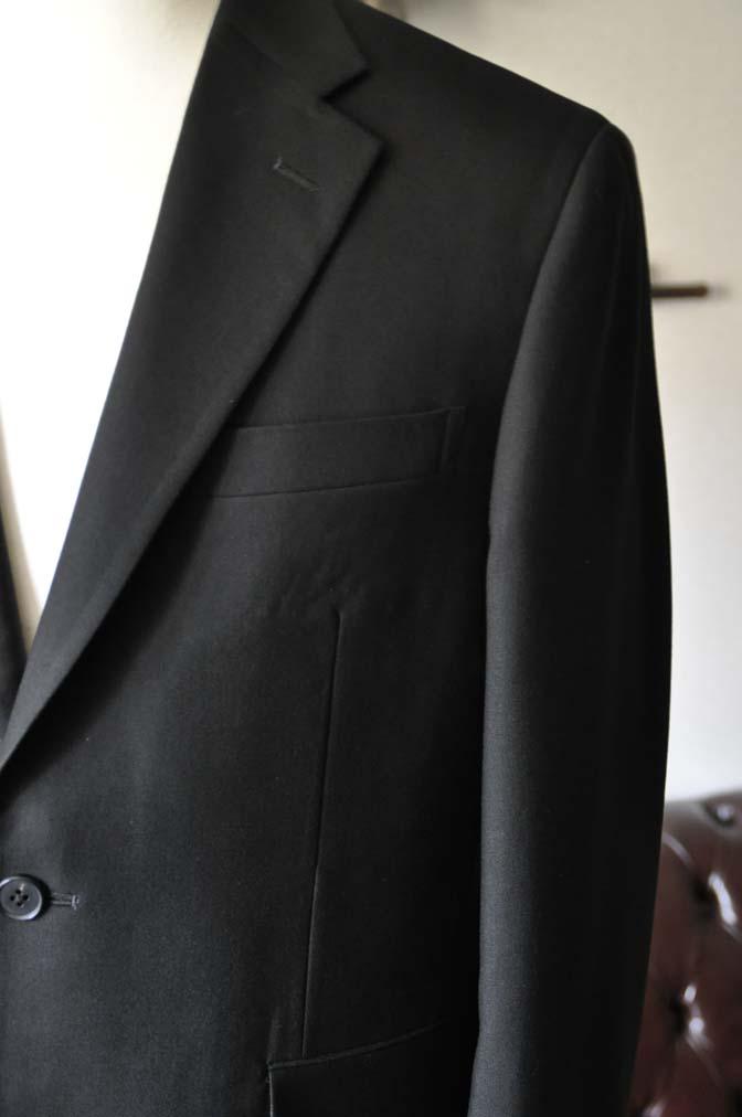 DSC0956-1 お客様のスーツの紹介-ブラックスーツ- 名古屋の完全予約制オーダースーツ専門店DEFFERT