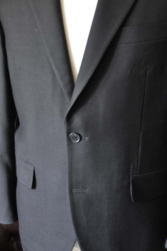 DSC0957-2 お客様のスーツの紹介-ブラックスーツ- 名古屋の完全予約制オーダースーツ専門店DEFFERT