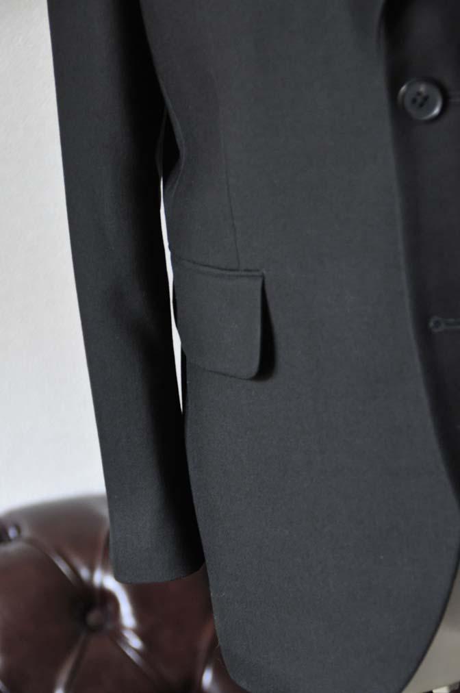DSC0958-1 お客様のスーツの紹介-ブラックスーツ- 名古屋の完全予約制オーダースーツ専門店DEFFERT