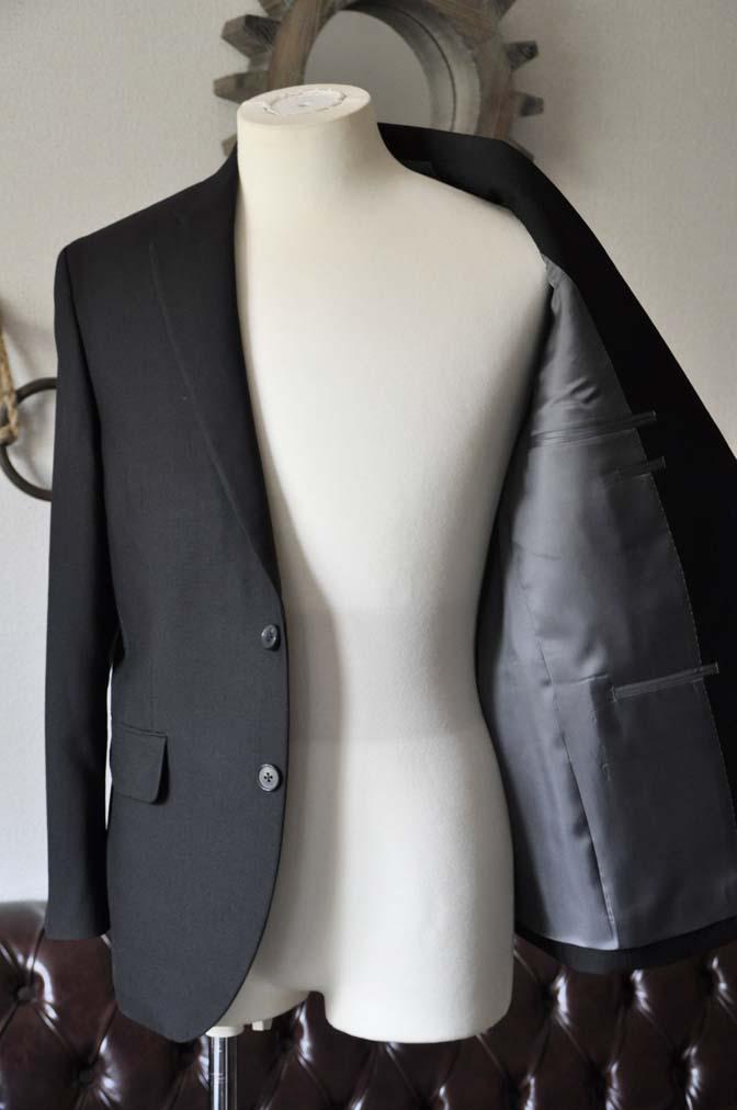 DSC0964-1 お客様のスーツの紹介-ブラックスーツ- 名古屋の完全予約制オーダースーツ専門店DEFFERT