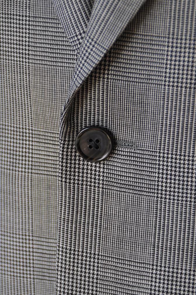 DSC09651 お客様のジャケットの紹介-グレンチェックジャケット- 名古屋の完全予約制オーダースーツ専門店DEFFERT