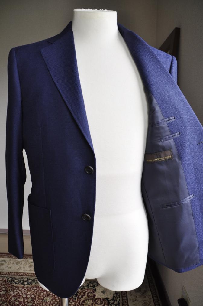 DSC09661 お客様のジャケット・パンツ-CANONICO ホップサック・LARUSMIANI コットン-