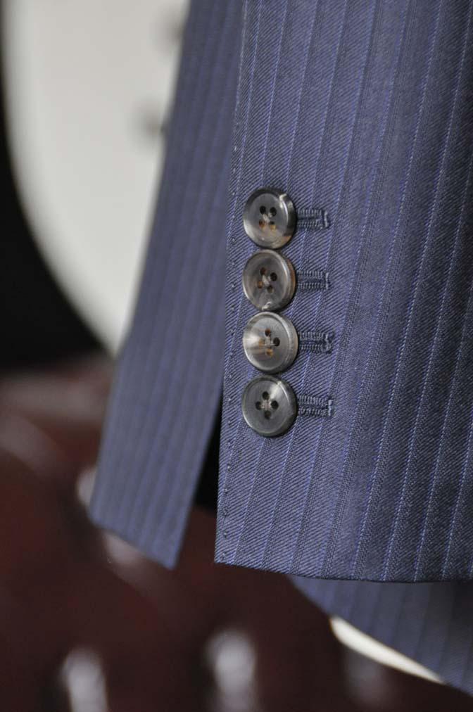 DSC0968-4 お客様のスーツの紹介-CANONICOネイビーストライプスーツ-