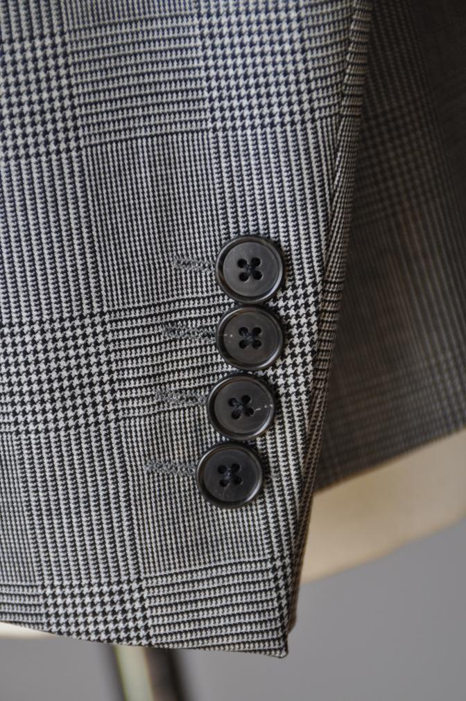DSC09681 お客様のジャケットの紹介-グレンチェックジャケット- 名古屋の完全予約制オーダースーツ専門店DEFFERT