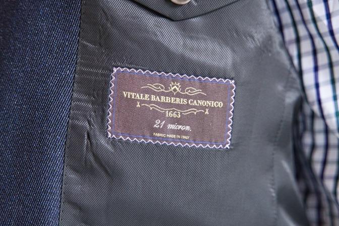 DSC09704 オーダージャケット、パンツの紹介-CANONICOグレースーツ-