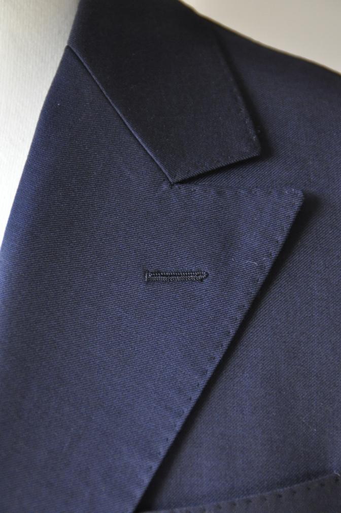 DSC09881 お客様のスーツの紹介-BIELLESI ネイビー スリーピース-