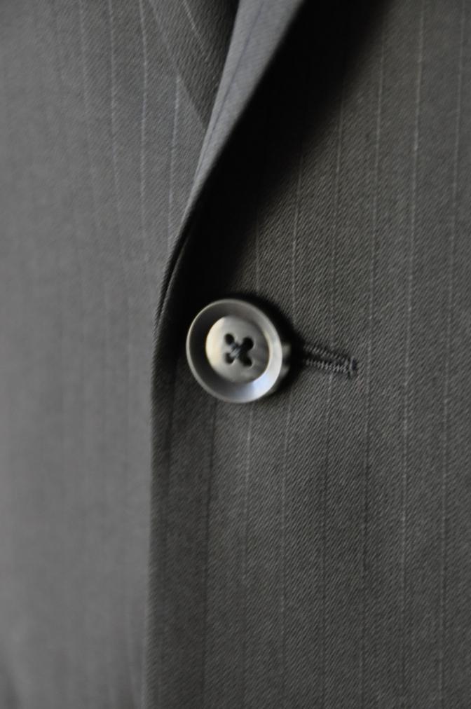 DSC09892 お客様のスーツの紹介-BIELLESI ブラックストライプ- 名古屋の完全予約制オーダースーツ専門店DEFFERT