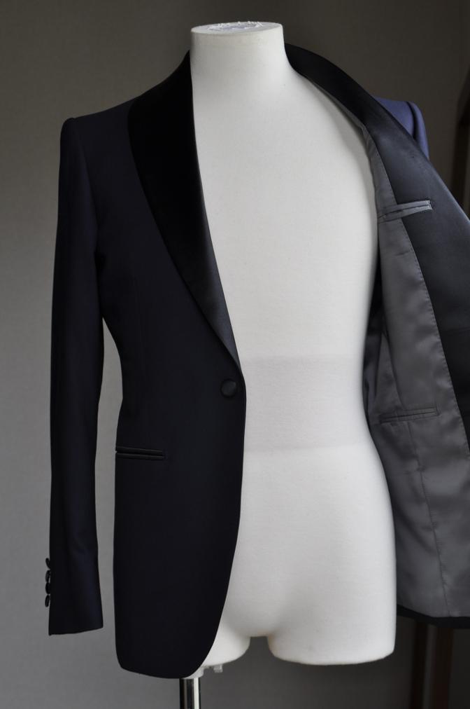 DSC10372 お客様のタキシードの紹介-ネイビーショールカラータキシード~007 ジェームズボンド~-