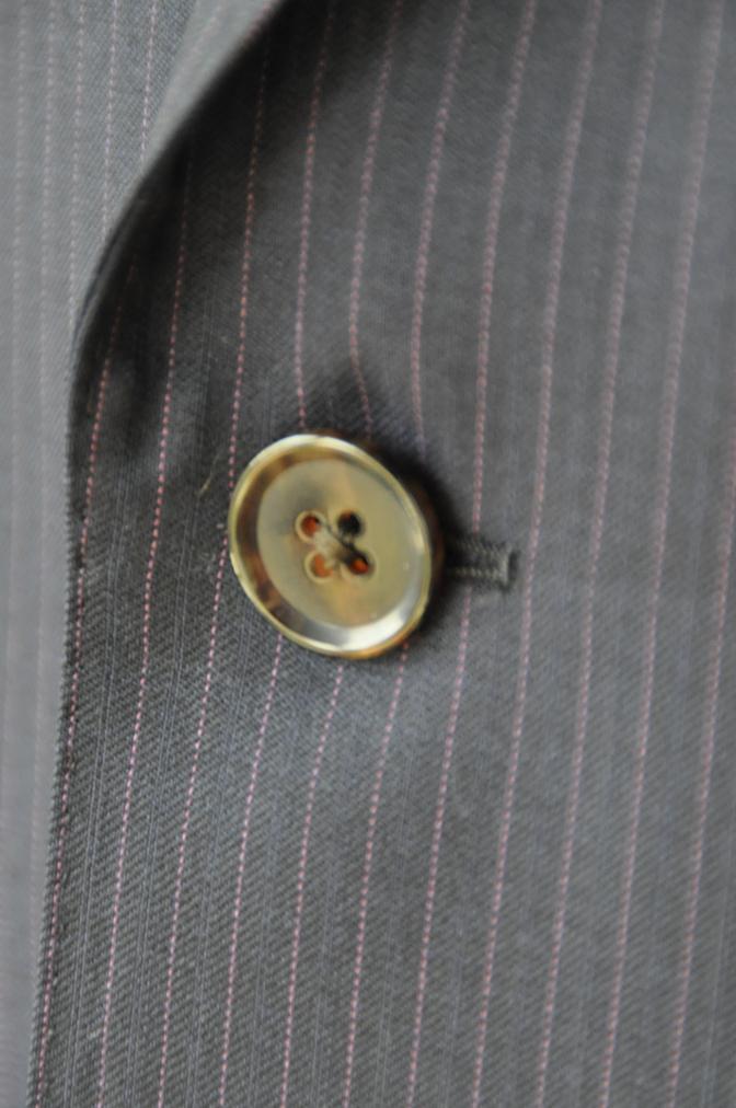 DSC10373 お客様のスーツの紹介-Tollegno ネイビーストライプ-