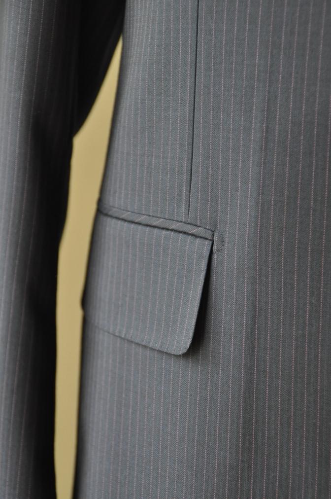 DSC10381 お客様のスーツの紹介-Tollegno ネイビーストライプ-