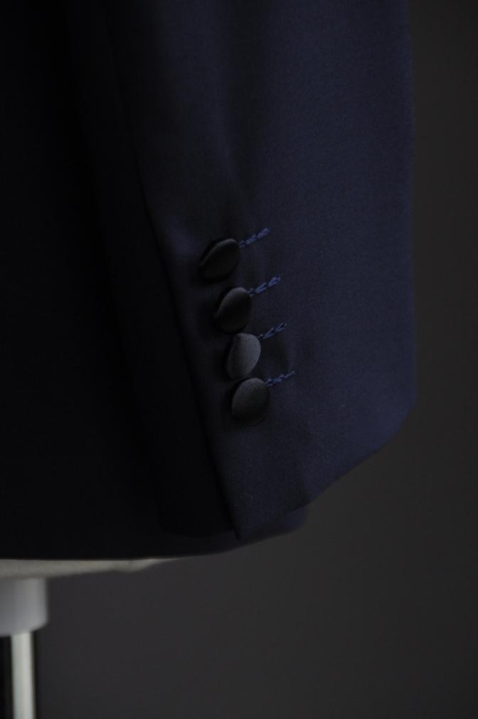 DSC10431 お客様のタキシードの紹介-ネイビーショールカラータキシード~007 ジェームズボンド~-