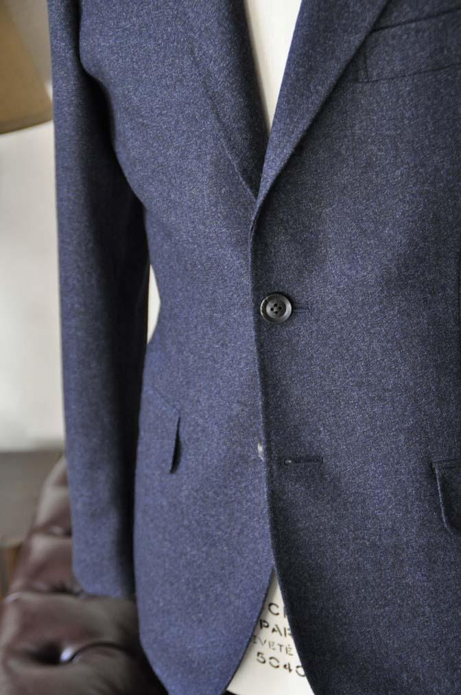 DSC1056-3 オーダースーツの紹介-ネイビーフランネルスーツ- 名古屋の完全予約制オーダースーツ専門店DEFFERT