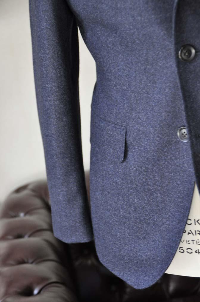 DSC1057-2 オーダースーツの紹介-ネイビーフランネルスーツ- 名古屋の完全予約制オーダースーツ専門店DEFFERT