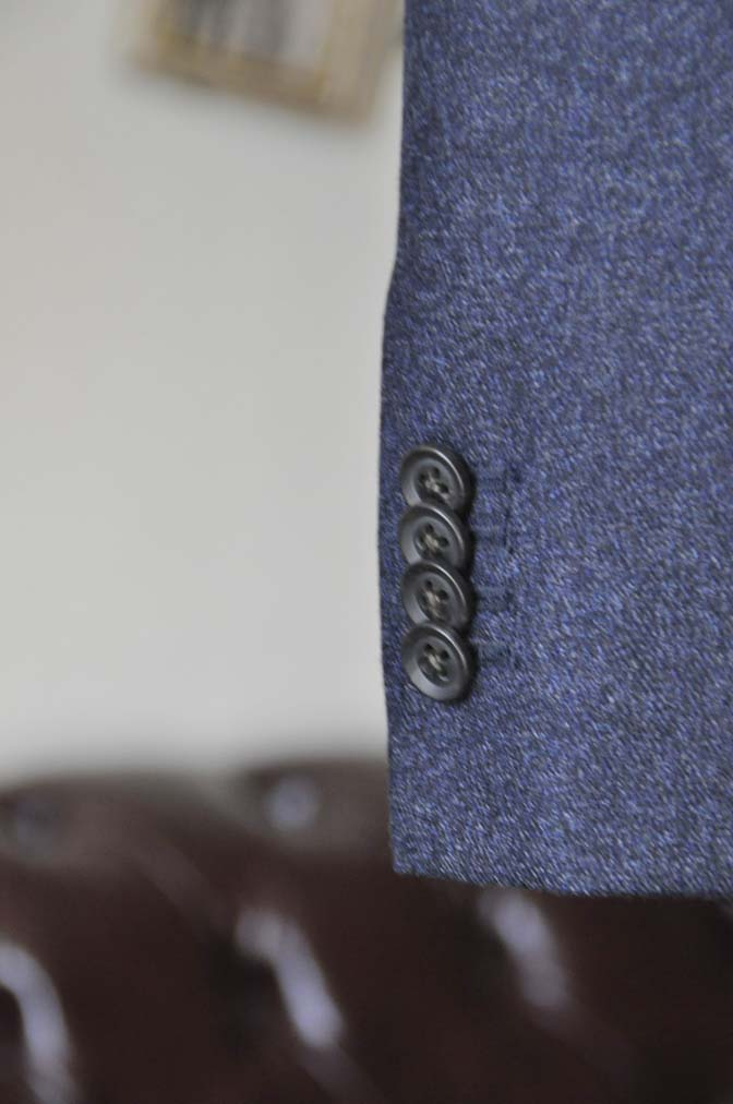 DSC1058-3 オーダースーツの紹介-ネイビーフランネルスーツ- 名古屋の完全予約制オーダースーツ専門店DEFFERT