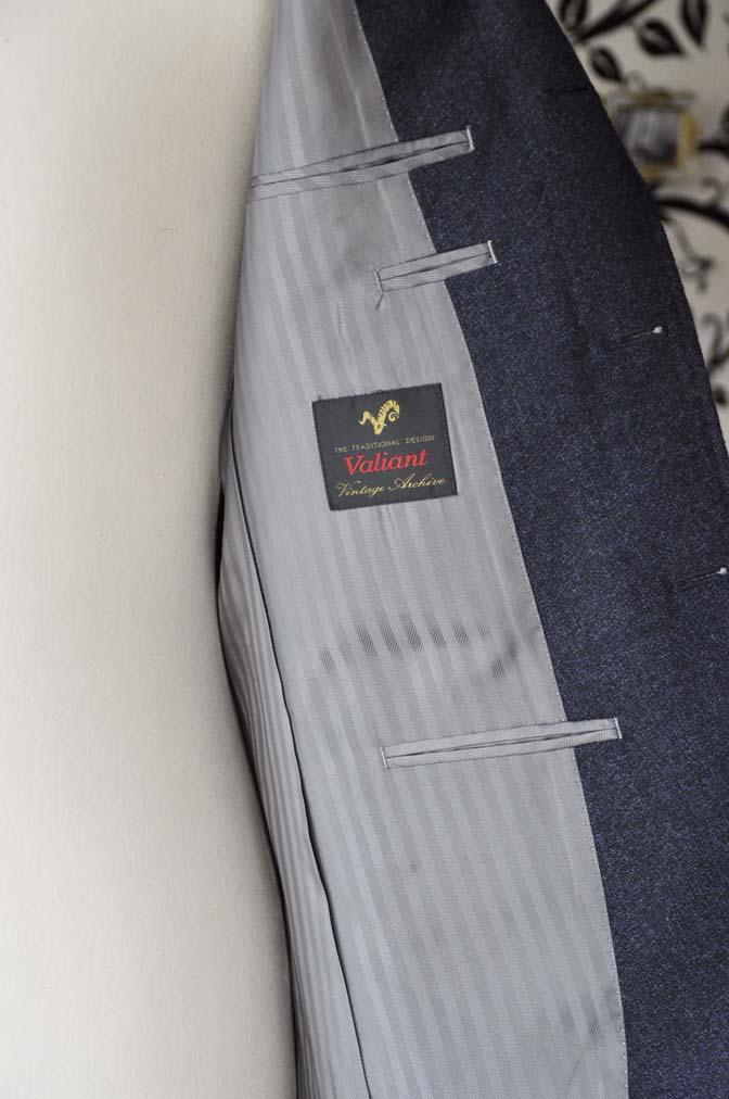 DSC1060-1 オーダースーツの紹介-ネイビーフランネルスーツ- 名古屋の完全予約制オーダースーツ専門店DEFFERT