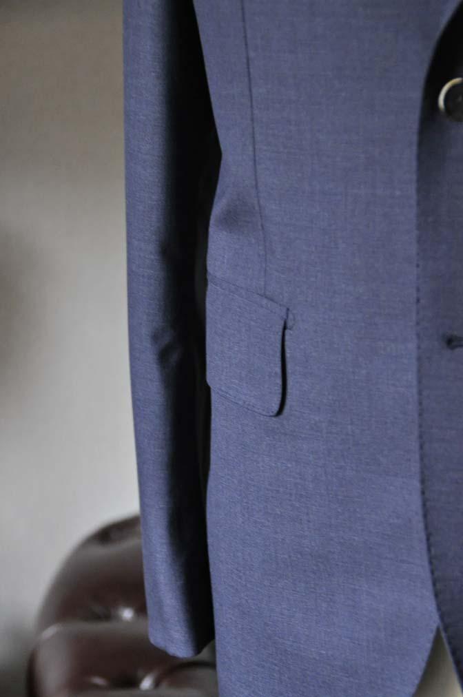 DSC1098-1 お客様のスーツの紹介- Canonico 無地ネイビースーツ- 名古屋の完全予約制オーダースーツ専門店DEFFERT