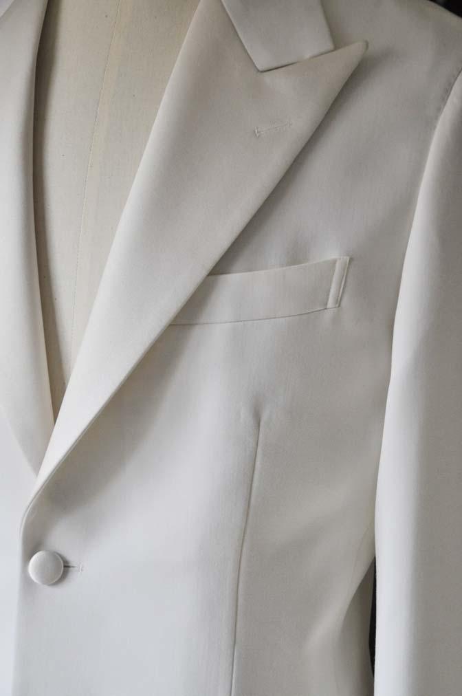 DSC1133-3 オーダータキシードジャケットの紹介-ホワイトピークドラぺルタキシード ジャケット-DSC1133-3 オーダータキシードジャケットの紹介-ホワイトピークドラぺルタキシード ジャケット- 名古屋市のオーダータキシードはSTAIRSへ