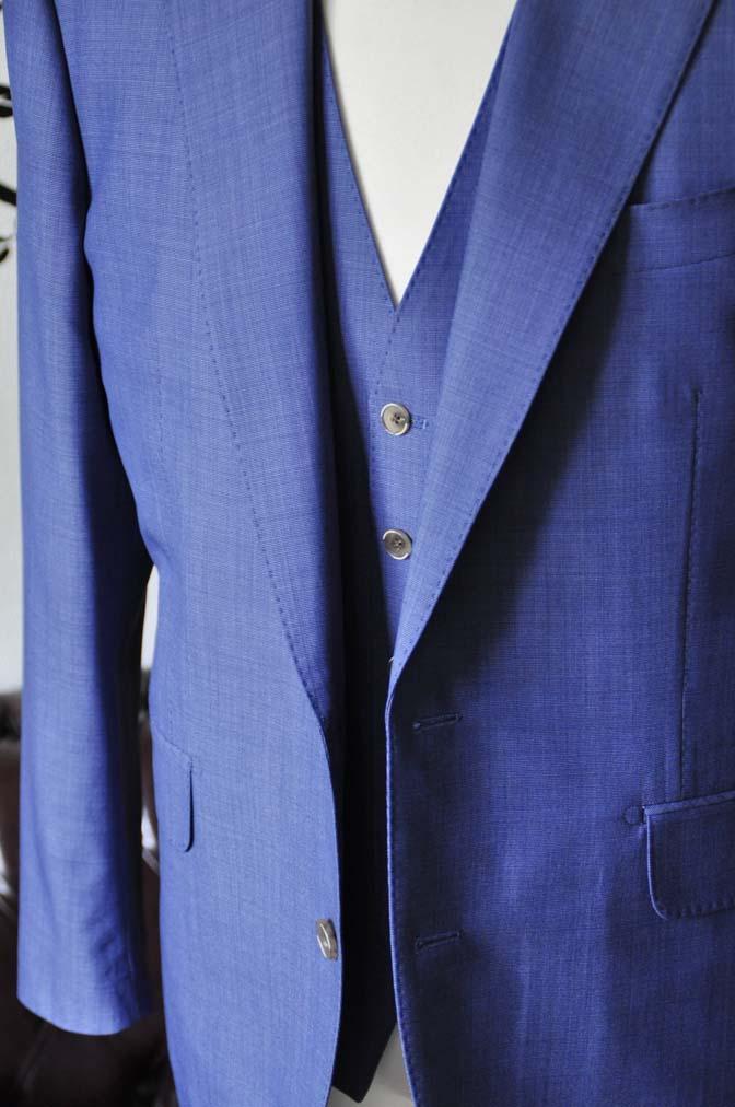 DSC1136-1 お客様のスーツの紹介-CANONICOネイビースリーピース-