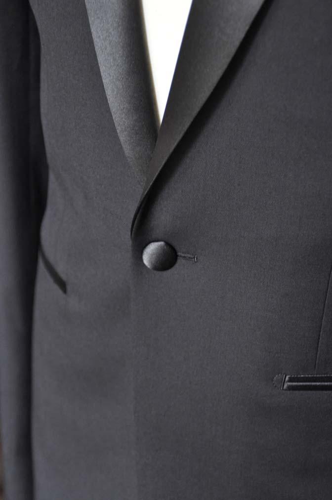 DSC11432 お客様のタキシードの紹介- Biellesi ブラックタキシード- 名古屋の完全予約制オーダースーツ専門店DEFFERT