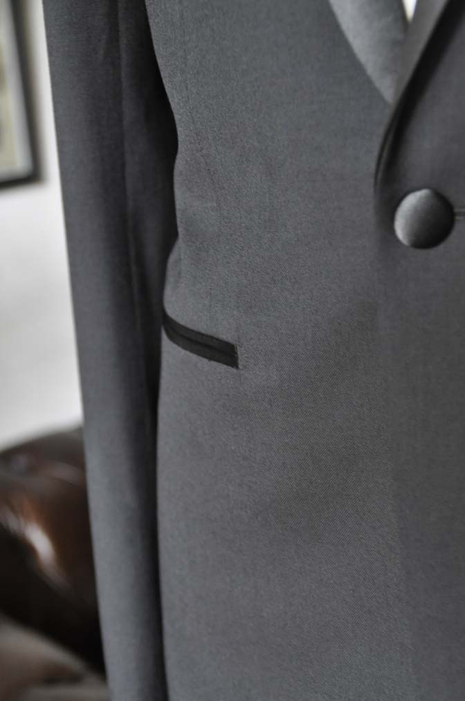 DSC11442 お客様のタキシードの紹介- Biellesi ブラックタキシード- 名古屋の完全予約制オーダースーツ専門店DEFFERT