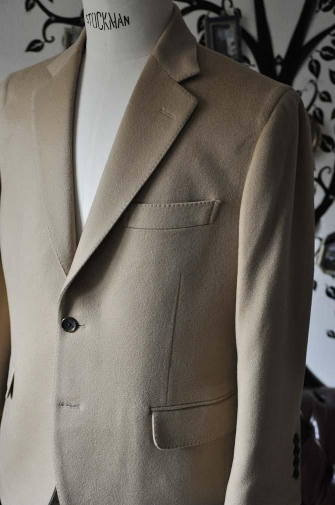 DSC1145-1 オーダージャケットの紹介-MTR カシミア キャメルジャケット- 名古屋の完全予約制オーダースーツ専門店DEFFERT