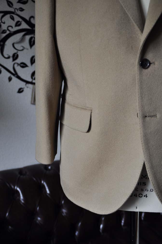 DSC1147-3 オーダージャケットの紹介-MTR カシミア キャメルジャケット- 名古屋の完全予約制オーダースーツ専門店DEFFERT