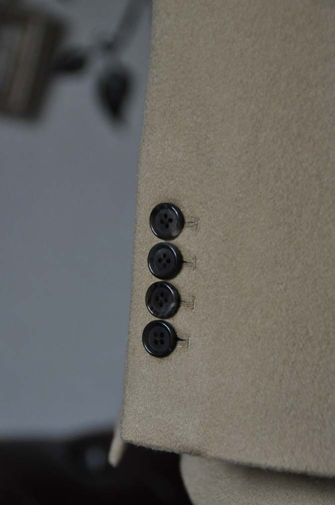 DSC1148-2 オーダージャケットの紹介-MTR カシミア キャメルジャケット- 名古屋の完全予約制オーダースーツ専門店DEFFERT