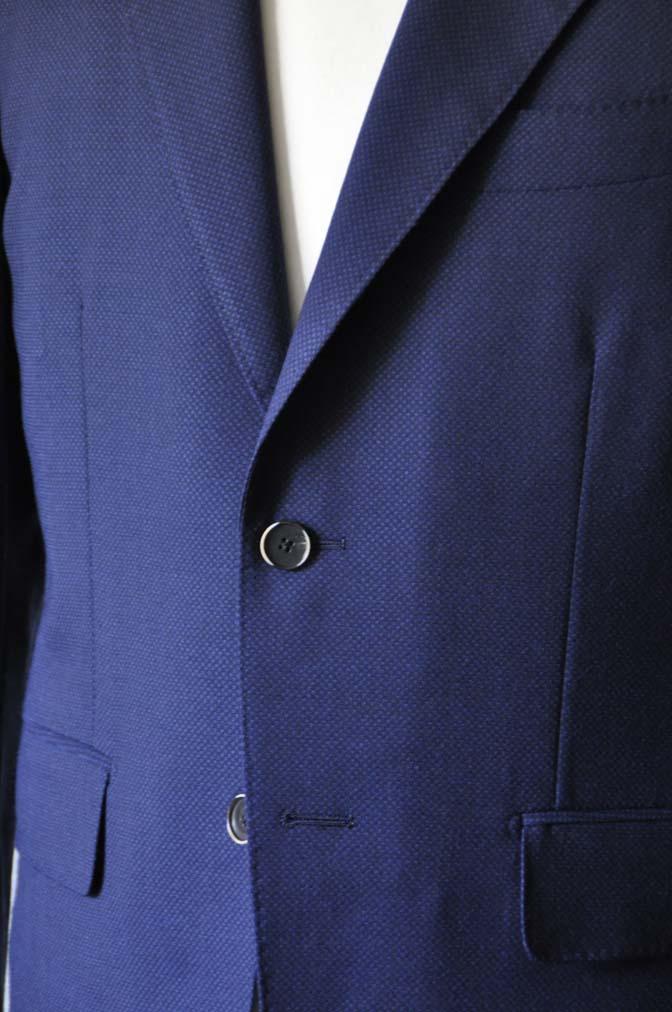 DSC1151-1 お客様のスーツの紹介-ネイビーバーズアイ-